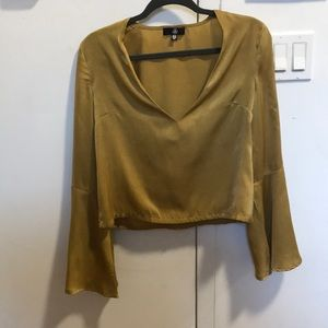 Misguided wide sleeve top